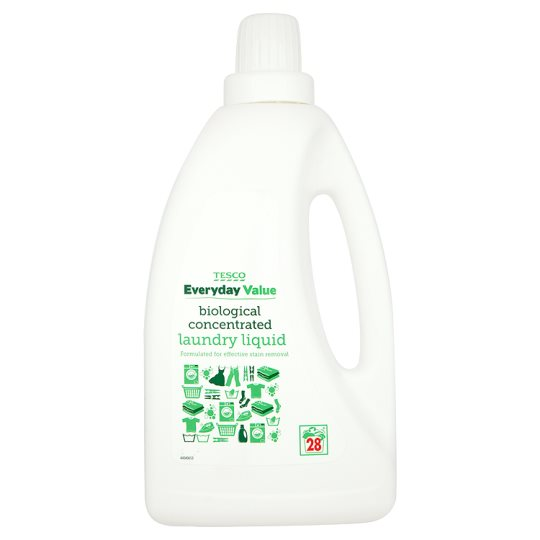 Tesco Everyday Value Bio. Concentrated Ldd Wash 1Litre