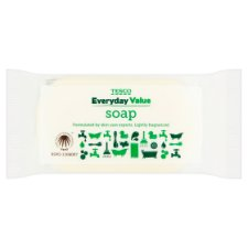 Tesco Everyday Value Soap 125G
