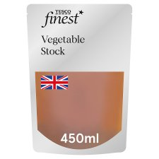 Tesco Finest Vegetable Stock 450Ml
