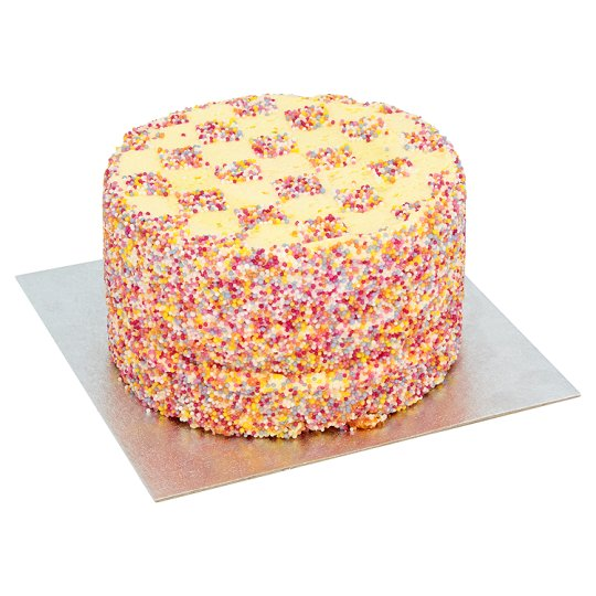 Tesco Rainbow Sponge Cake - Groceries - Tesco Groceries