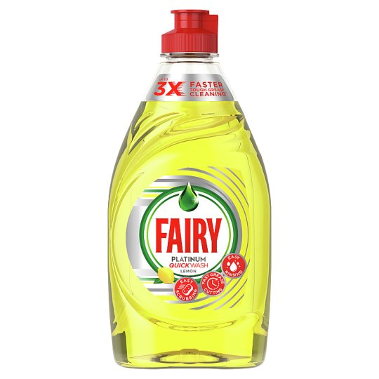 Fairy Platinum Lemon Washing Up Liquid 383Ml