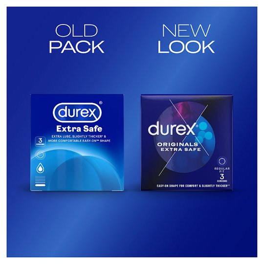 Durex Extra Safe Condoms 3'S
