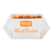 Holly's Food Emporium Wheat Crackers And Sesame 105G