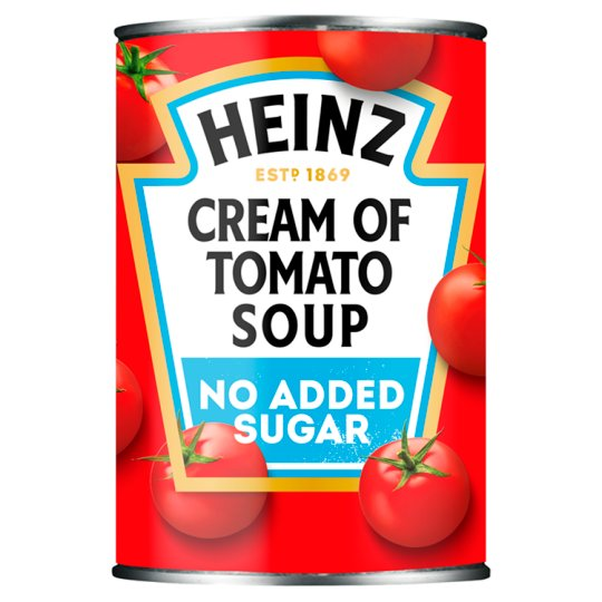 Heinz No Added Sugar Cream Of Tomato Soup 400G