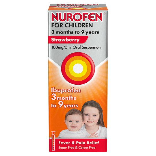 Nurofen For Children Strawberry 100Ml
