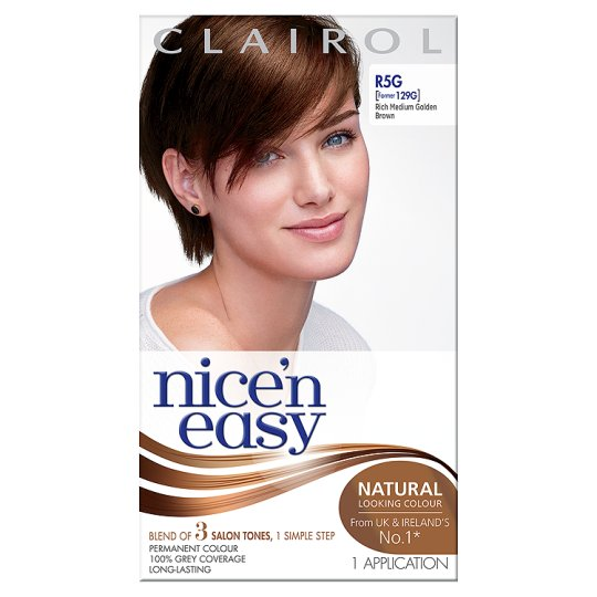 Nice'n Easy Permanent Rich Medium Golden Brown R5g Hair Dye