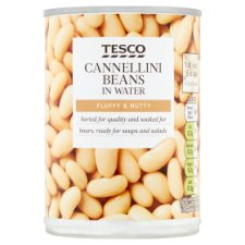 Tesco Cannellini Beans Water 400G