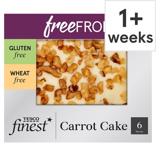 Tesco Finest Free From Carrot Cake