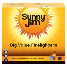 Sunny Jim Firelighters 60'S