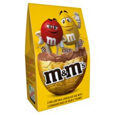 M&M Peanut Luxury Easter Egg And Chocolate 313G