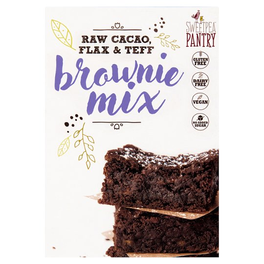 Sweetpea Pantry Flax Brownie Mix Gluten Free 200G