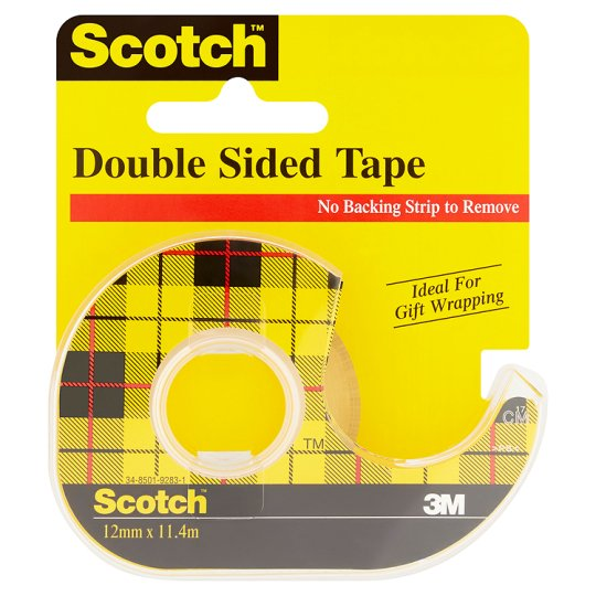 scotch double sided tape groceries tesco groceries. Black Bedroom Furniture Sets. Home Design Ideas