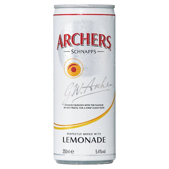 image 1 of Archers And Lemonade 250Ml