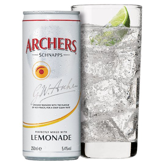 Archers And Lemonade 250Ml