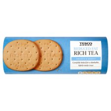 Tesco Reduced Fat Rich Tea Biscuits 300G