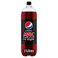 Pepsi Max 2 Litre Bottle