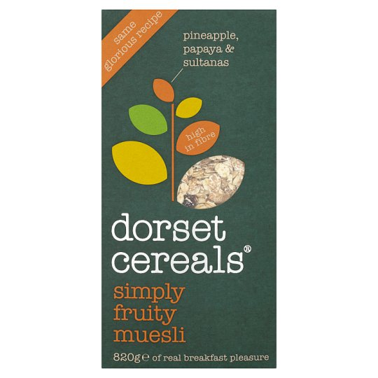 image 1 of Dorset Cereals Simply Fruity Muesli 820G