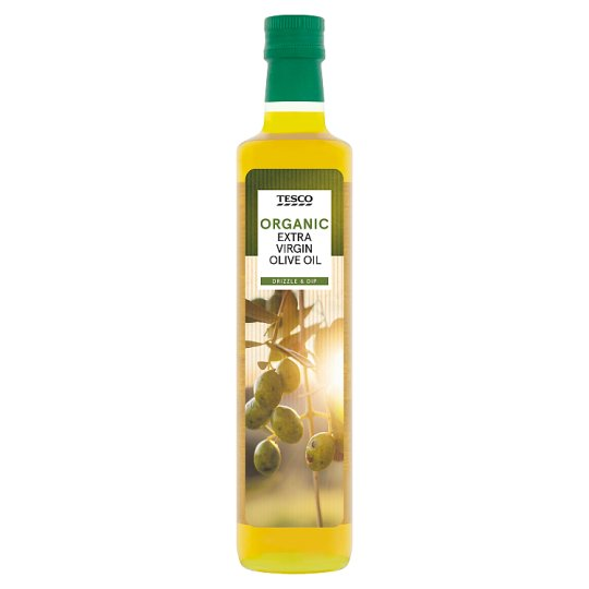Tesco Organic Extra Virgin Olive Oil 500Ml