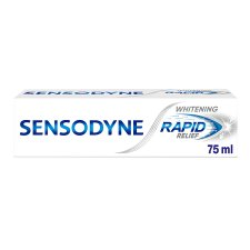 image 1 of Sensodyne Rapid Relief Whitening Toothpaste 75Ml