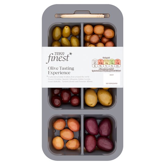 Tesco Finest Olive Tasting Experience 132G
