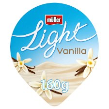 Muller Light Vanilla Yogurt 160G