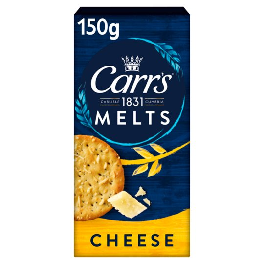image 1 of Carrs Cheese Melt Biscuits 150G