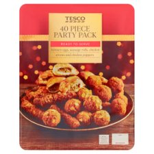 Tesco 40 Piece Party Pack 452G