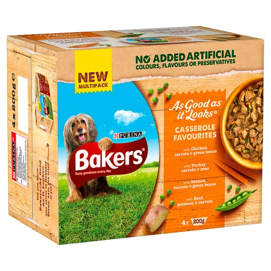 image 1 of Bakers As Good As It Looks Casserole Dog Food 4X200g