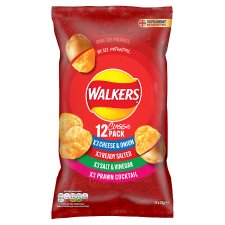 Walkers Classic Variety Crisps 12 X 25G