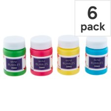 Tesco Mini Bubbles 6 Pack