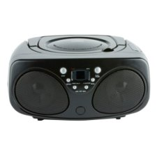Tesco Boombox Cd Fm Radio Black