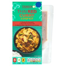 Tesco Red Thai Curry Meal Kit 243G