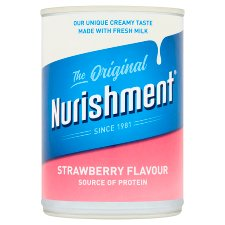 Nurishment Original Strawberry Milk Drink 400Ml