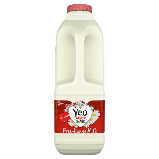 Yeo Valley Organic Skimmed Milk 1L