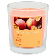 Tesco Peach And Passion Fruit Filled Candle