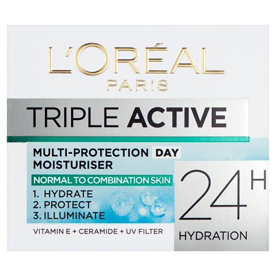 image 1 of L'oreal Paris Triple Active Day Cream Moisturiser 50Ml
