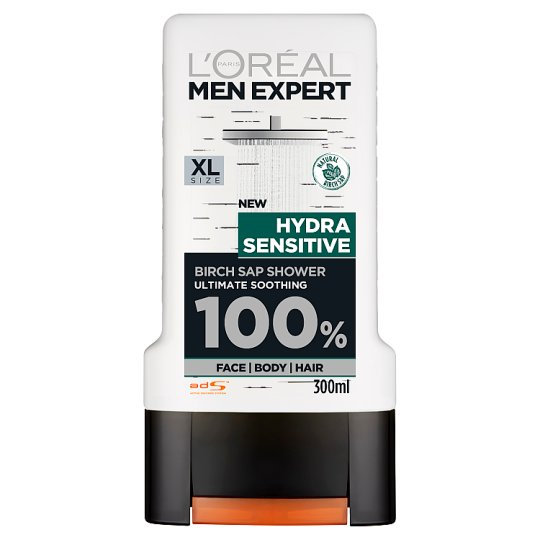 L'oreal Men Expert Shower Hydra Sensitive 300Ml