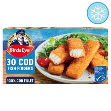 Birds Eye 30 Cod Fish Fingers 840G
