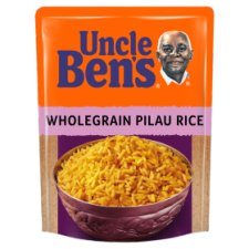 Uncle Bens Microwave Wholegrain Pilau Rice 250G