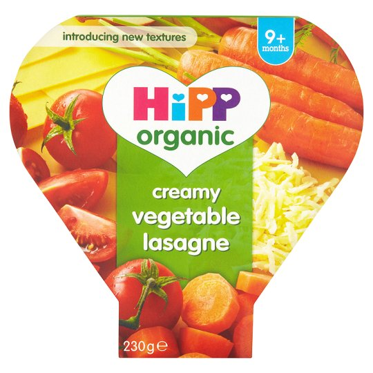 Hipp Organic Creamy Vegetable Lasagne 230G
