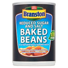 Branston Reduced Sugar And Salt Baked Beans In Tomato Sauce 410G