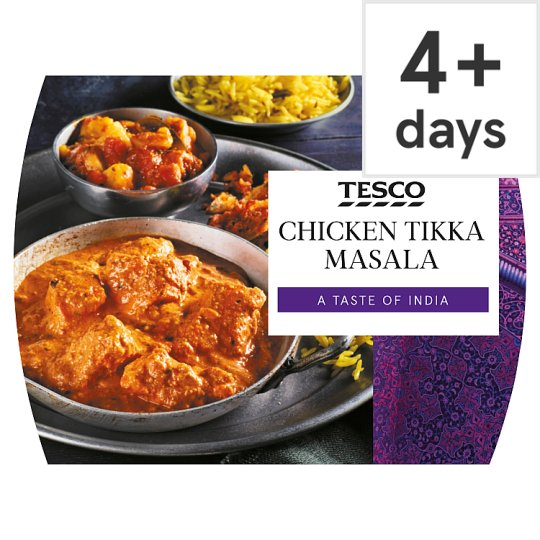 Tesco Meal For One Chicken Tikka Masala 550G