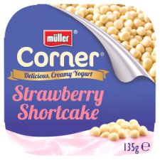 Muller Corner Strawberry Crunch Yogurt 135G
