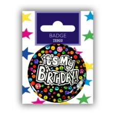 Tesco Happy Birthday Small Badge