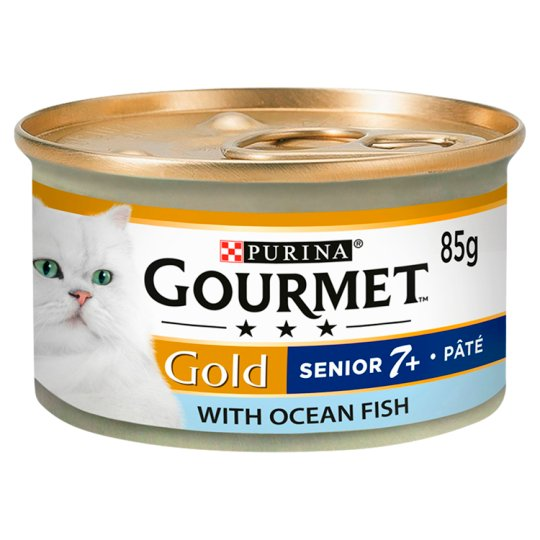 image 1 of Gourmet Gold Senior Pate With Oceanfish 85G