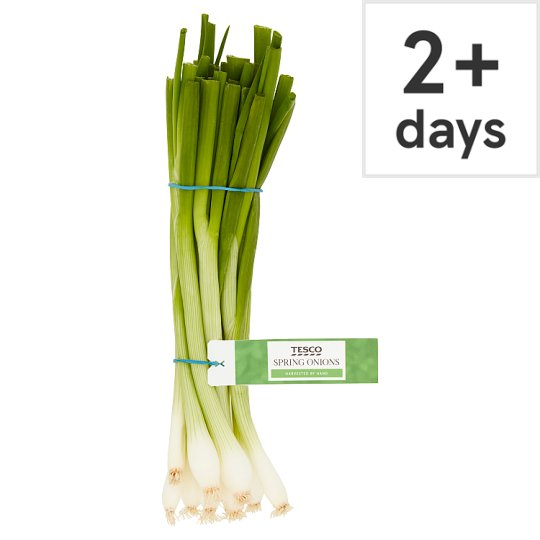 image 1 of Tesco Bunched Spring Onions 100G