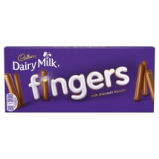 Cadbury Fingers Milk Chocolate Biscuits 138G