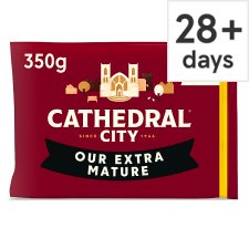 Cathedral City Extra Mature Cheddar Cheese 350 G