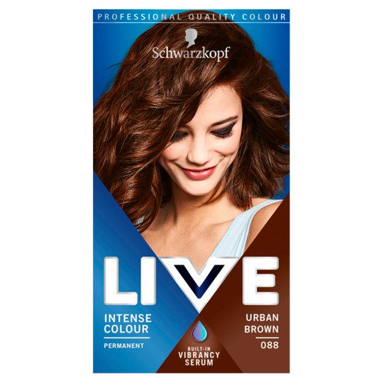 Schwarzkopf Live Intensive Color 088 Urban Brown Hair Dye