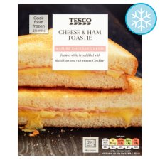 Tesco Ham And Cheese Toastie 124G